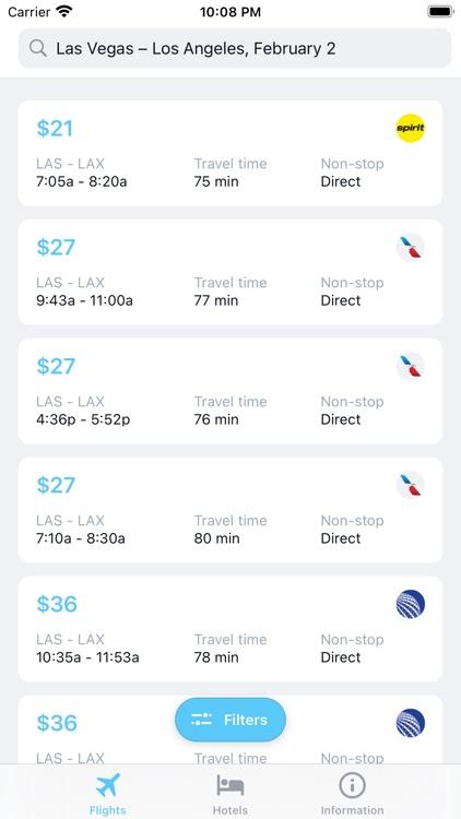 iTraveler - flights and hotels