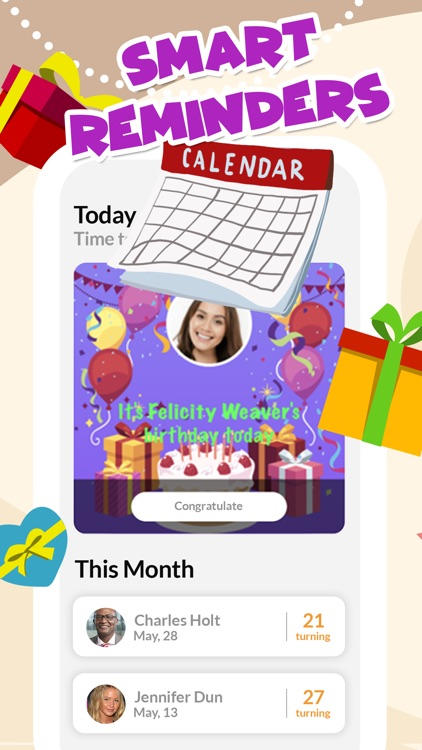 Birthday Reminder + screenshot-0