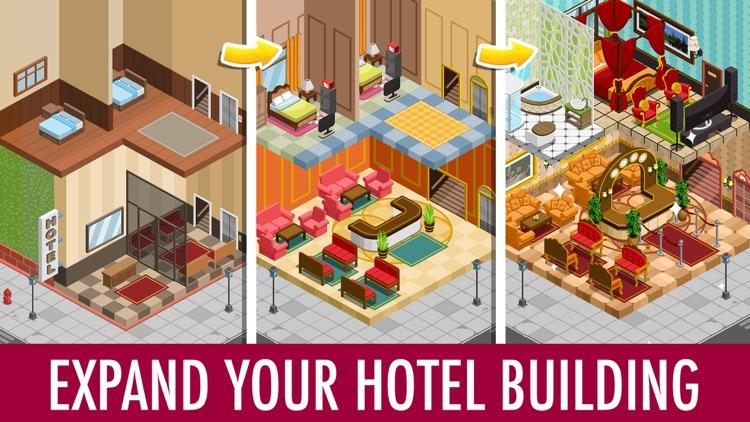 Hotel Tycoon Empire: Idle Game screenshot-3