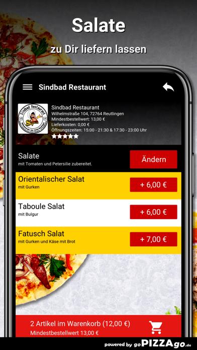 Sindbad Restaurant Reutlingen screenshot 3