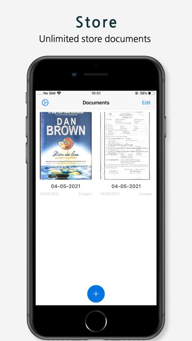 PDF Scanner App - Document Screenshot