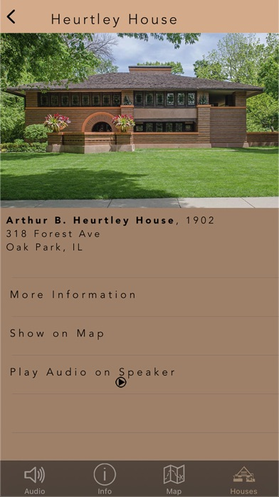 Frank Lloyd Wright Tour screenshot 2