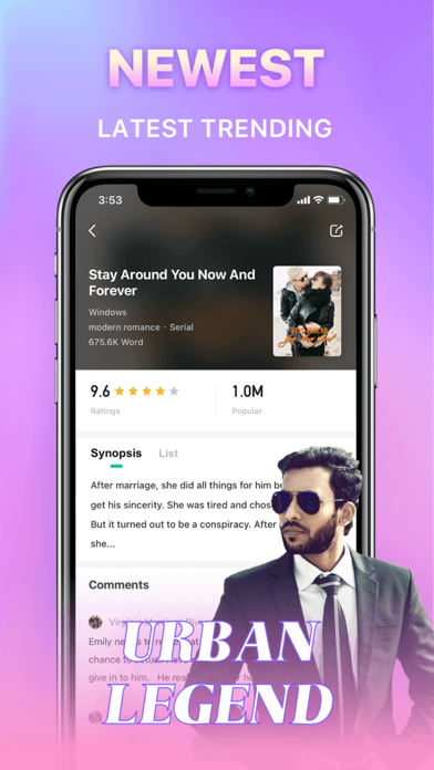 Hinovel - Read  Stories Screenshot