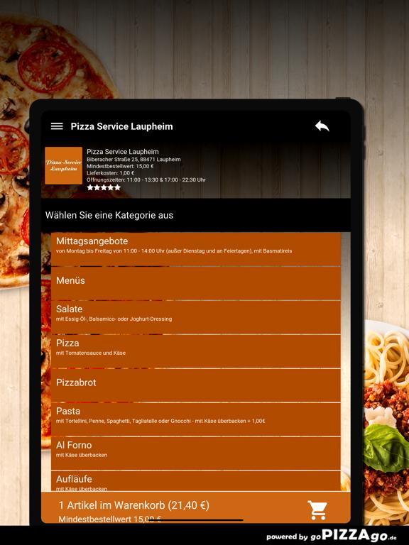Pizza Service Laupheim screenshot 8