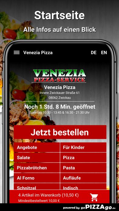 Venezia Pizza Zwickau screenshot 2