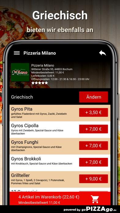 Pizzeria Milano Bochum screenshot 6