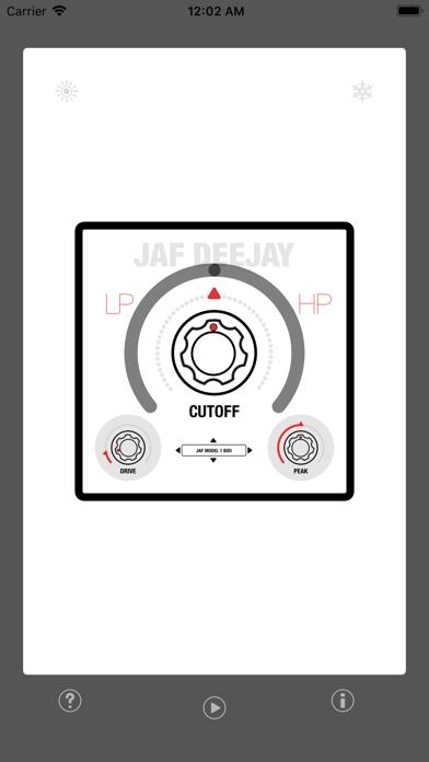 JAF DeeJey - Full Range Filter screenshot 3