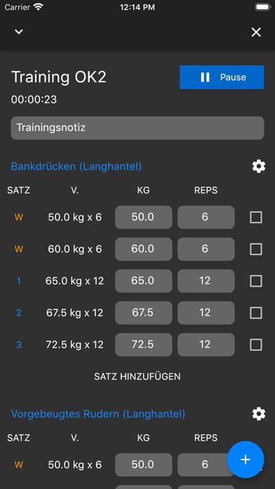 GymTime Workout TrackerScreenshot von 8