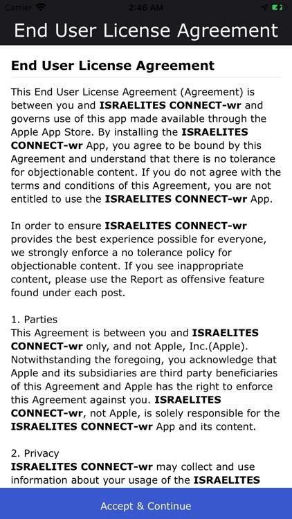 ISRAELITES CONNECT