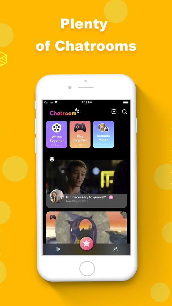 Live video chat Omegle:VJOY App for iPhone - Free Download
