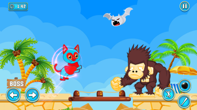 Super Hero Cat Adventure Game screenshot 2