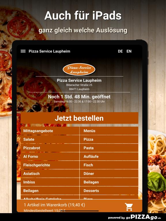 Pizza Service Laupheim screenshot 7