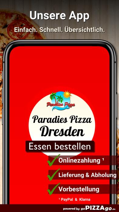 Paradies Pizzaservice Dresden screenshot 1
