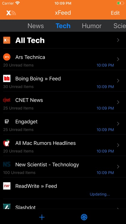 xFeed RSS Reader