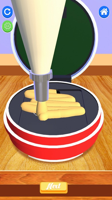 Ice Cream Sandwich 3D! Bake It screenshot 1