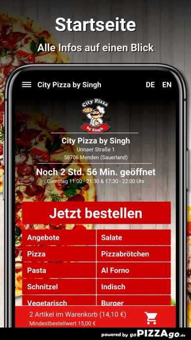 City Pizza by Singh Menden screenshot 2