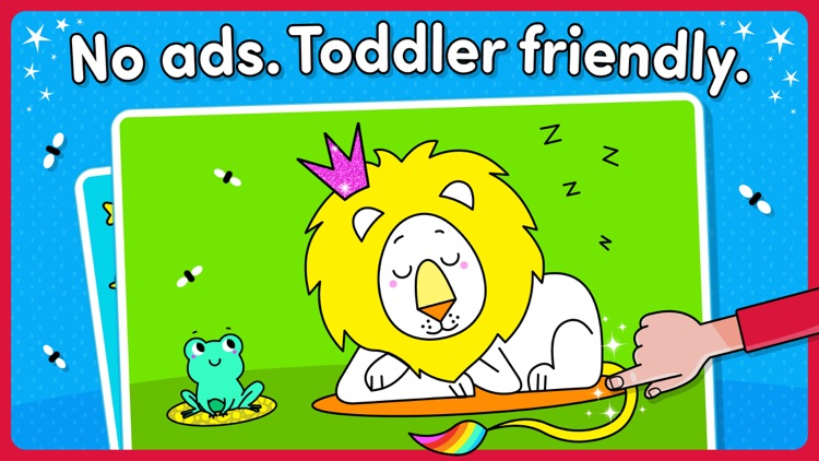 Coloring Games For Toddlers . By TOYA TAP: PRESCHOOL AND KINDERGARTEN FREE  LEARNING PUZZLES GAMES FOR KIDS TODDLERS LTD