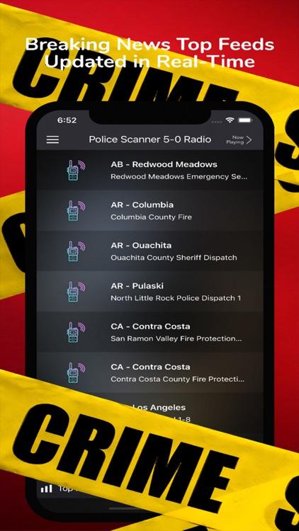 Police Scanner 5-0 Radio screenshot-4
