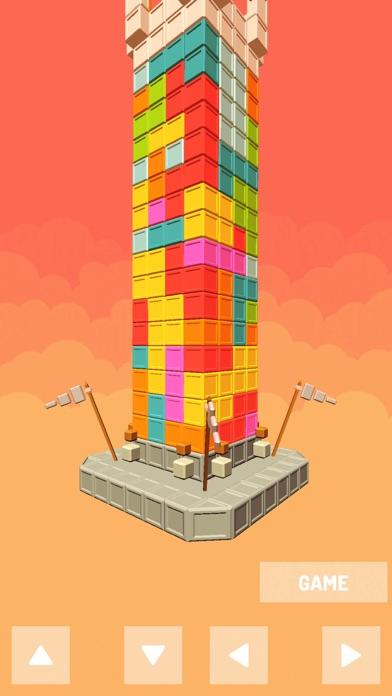 Castle Puzzle tower block screenshot 3
