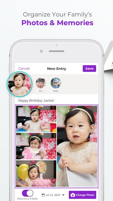 Qeepsake: Family & Baby Album Screenshot