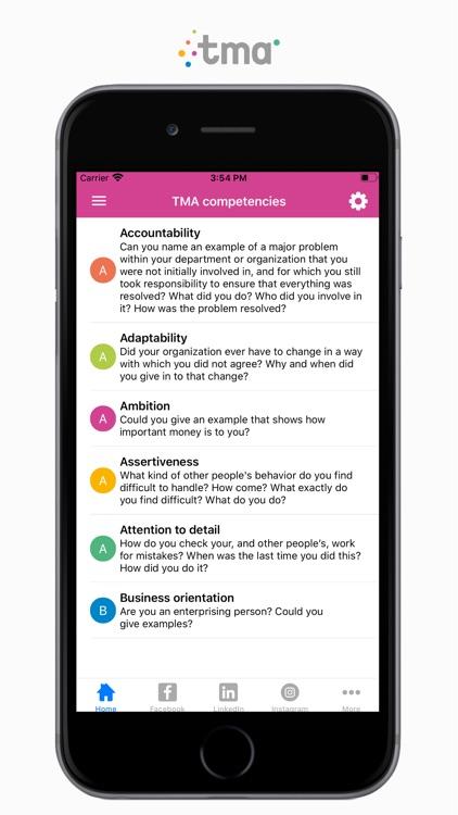 TMA Job Interview Questions screenshot-4