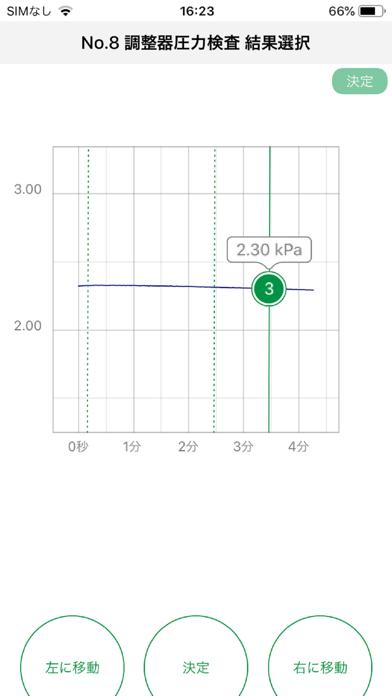 LPガス用セーバープロスマート 圧力計測アプリ スマホ版のスクリーンショット4