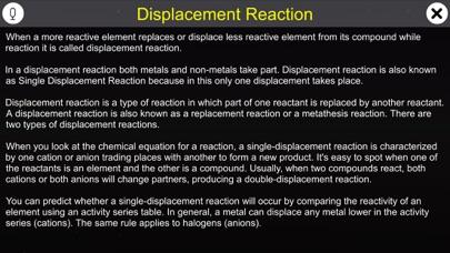 Displacement Reaction screenshot 1