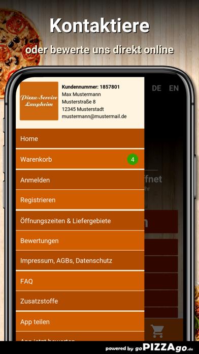Pizza Service Laupheim screenshot 5