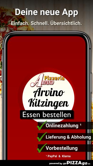 Pizzeria Arvino Kitzingen screenshot 1