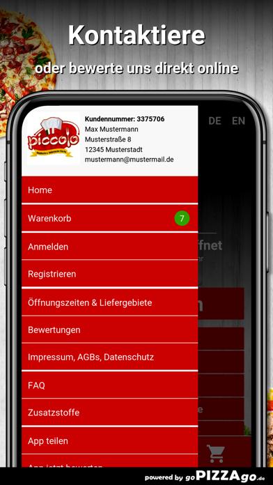 Piccolo Pizza Gräfelfing screenshot 5
