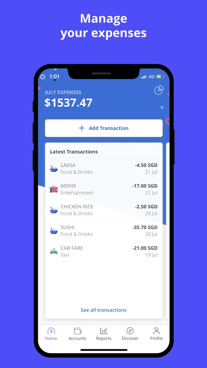 Seedly: Personal Finance App