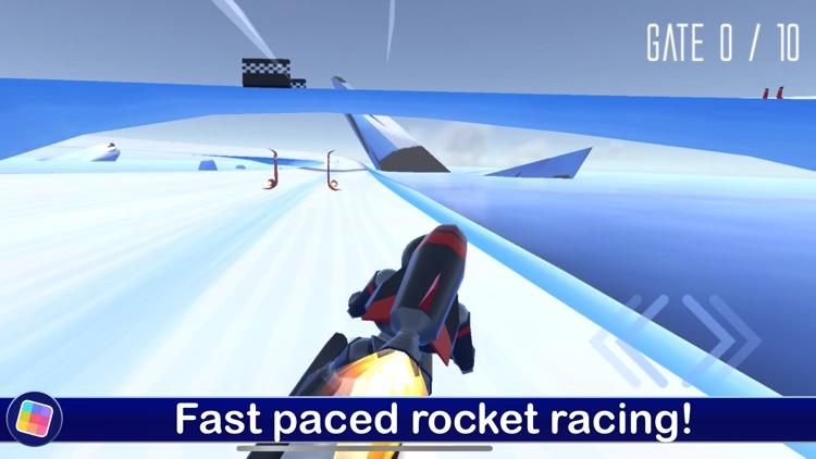 Rocket Ski Racing - GameClub screenshot-0