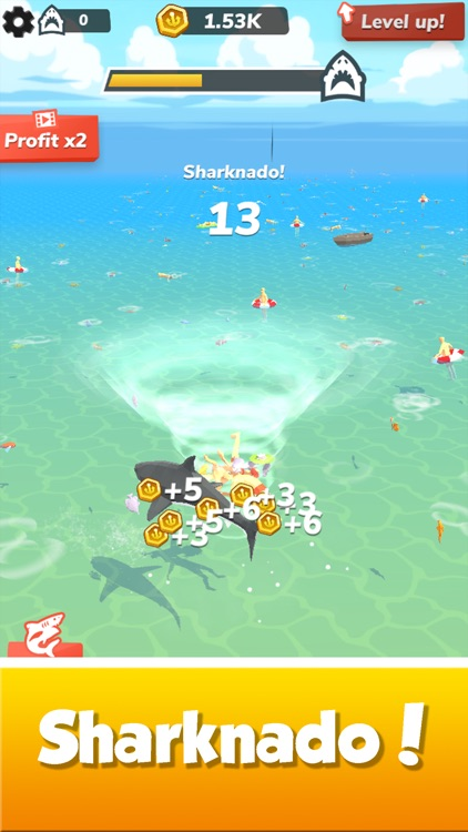 Idle Shark World - Tycoon Game screenshot-6