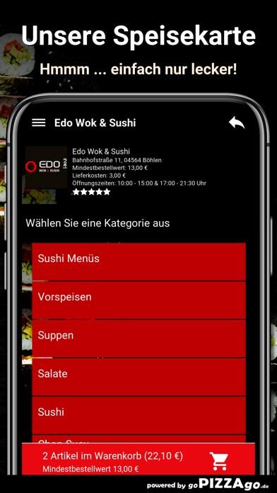Edo Wok & Sushi Böhlen screenshot 4