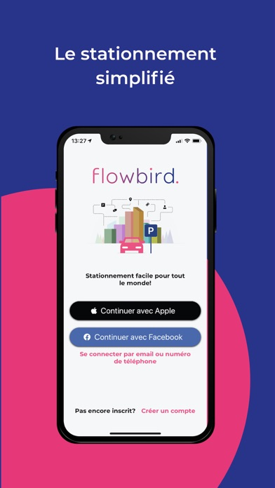 Screenshot #1 pour Flowbird parking