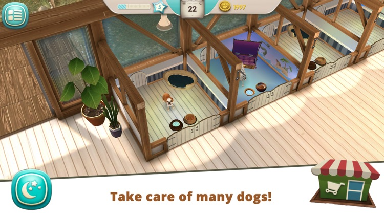 Dog Hotel - Play with dogs screenshot-3