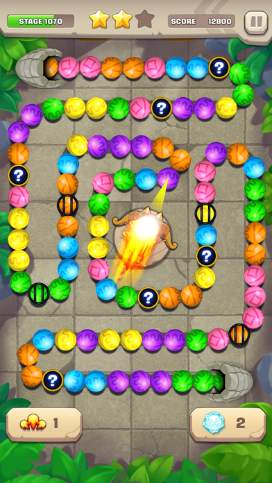 Marble Puzzle! Temple Mission screenshot 4