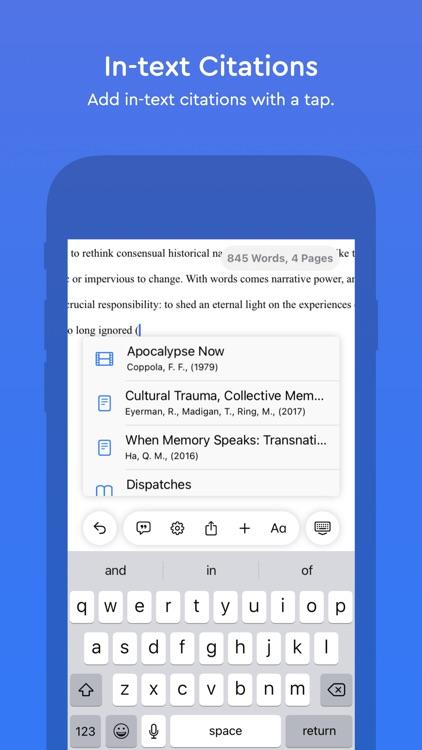 Essayist - APA & MLA Essays screenshot-4
