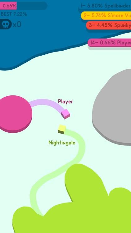 Paper.io 3D: Multiplayer
