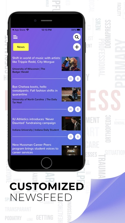 DormPress: University Newsfeed