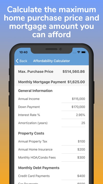 Mortgage Pal - Loan Calculator screenshot-3