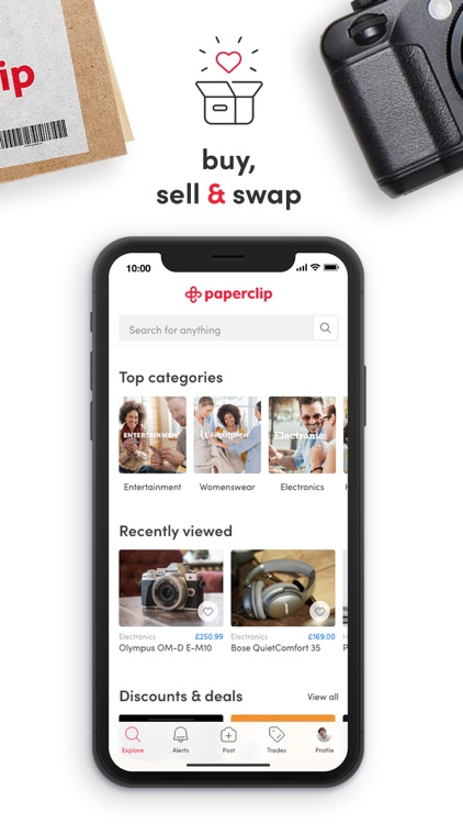 Paperclip - Buy, Sell & Swap