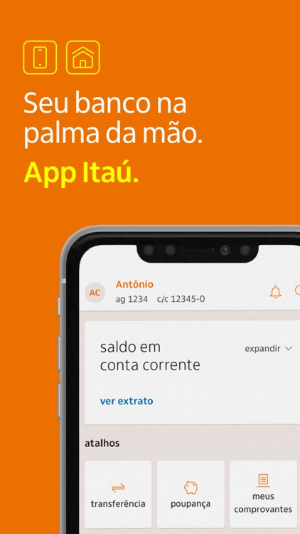 Banco Itaú: Internet Banking screenshot-0