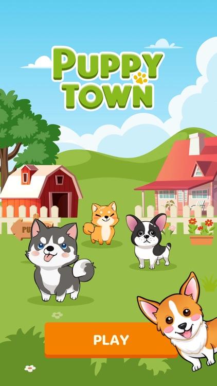 Puppy Town - Merge & Win screenshot-0