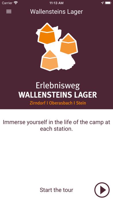 Erlebnisweg Wallensteins Lager screenshot 2