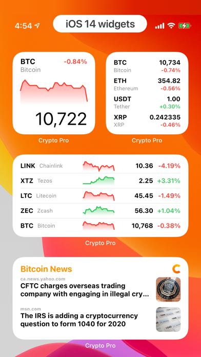 Crypto Pro - Portfolio Tracker Screenshot