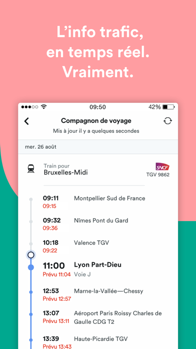 Screenshot #2 pour Trainline : voyages en train
