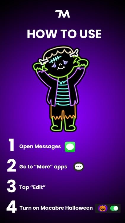 Macabre Halloween Stickers screenshot-4