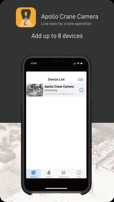 Apollo Crane Camera screenshot 3