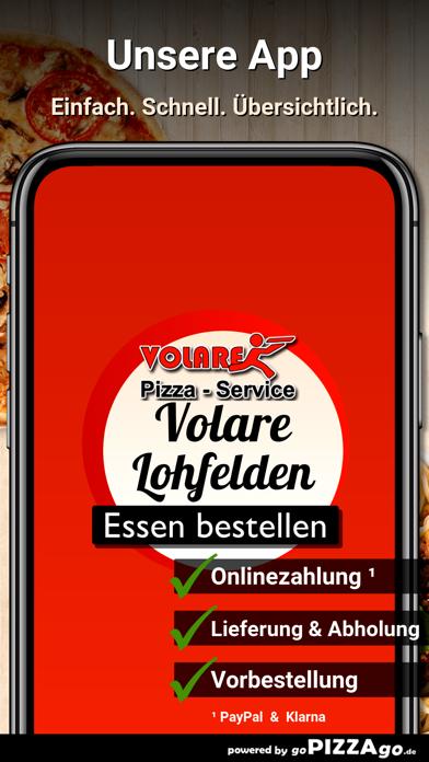 Pizza-Service Volare Lohfelden screenshot 1